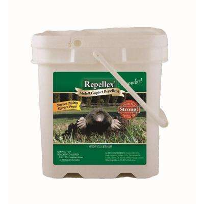 Repellex 24 lb. Mole Vole and Gopher Repellent Pail