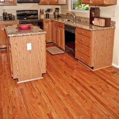 Red Oak 3/4 in. Thick x 3-1/4 in. Wide x 84 in. Length Solid Hardwood Flooring (18.75 sq. ft. / case)
