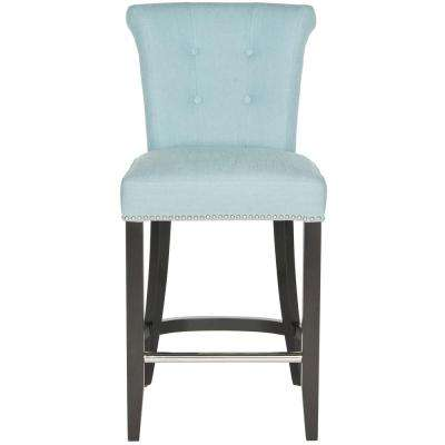 Addo Polyester Ring Counter Stool in Sky Blue