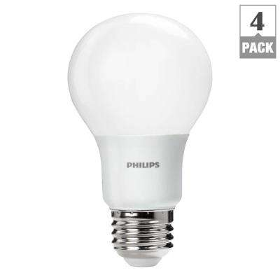60W Equivalent Daylight A19 LED Light Bulb (4-Pack)