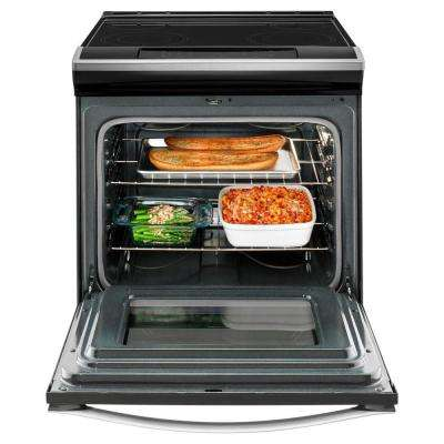 4.8 cu. ft. Slide-In Electric Range in Stainless Steel