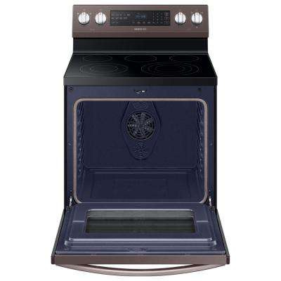 30 in. 5.9 cu. ft. Single Oven Electric Range with Self-Cleaning in Tuscan Stainless Steel
