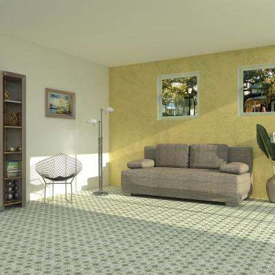 Kings Star Sage Encaustic 17-5/8 in. x 17-5/8 in. Ceramic Floor and Wall Tile (33 cases / 363.66 sq. ft. / pallet)
