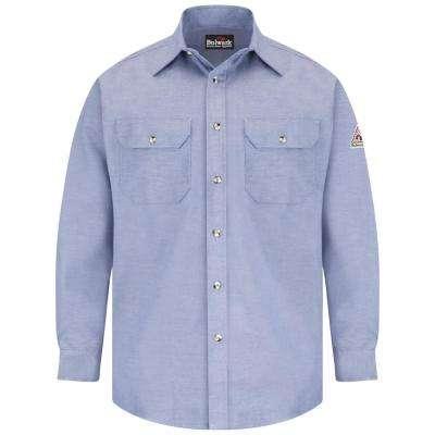 ECEL FR ComforTouch Men's Chambray Uniform Shirt