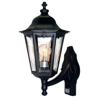 Tidewater Collection Wall-Mount 1-Light Outdoor Matte Black Fixture