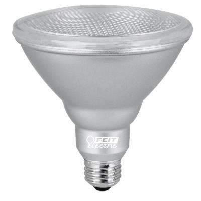90W Equivalent Warm White (3000K) PAR38 Dimmable Spot Waterproof LED Light Bulb (Case of 12)