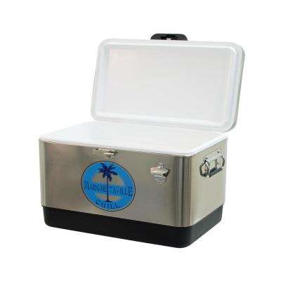 LandShark Lager 54 qt. Stainless Steel Chill Cooler