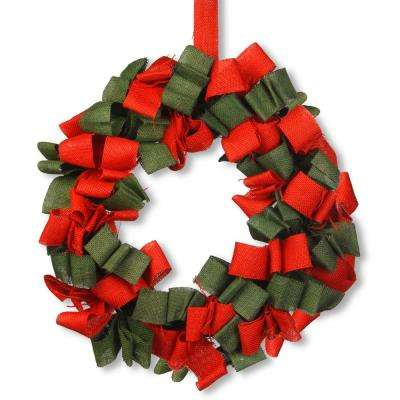 20 in. Holiday Artificial Wreath