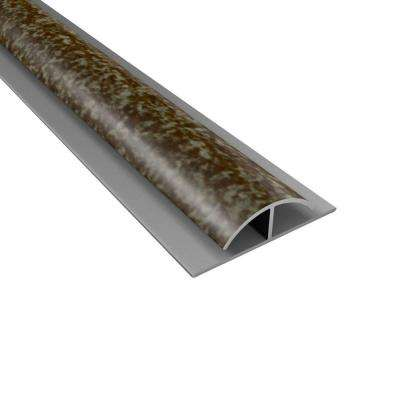 4 ft. Large Profile Divider Trim in Smoked Pewter