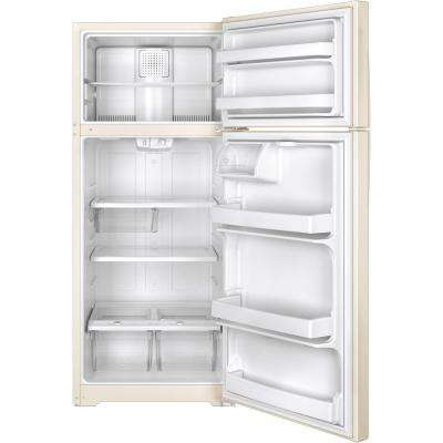 17.5 cu. ft. Top Freezer Refrigerator in Bisque
