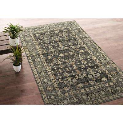 Herrera Charcoal 3 ft. x 12 ft. Runner Rug