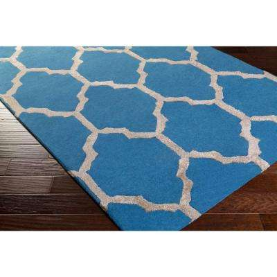 Anzio Cobalt 3 ft. x 8 ft. Indoor Runner Rug