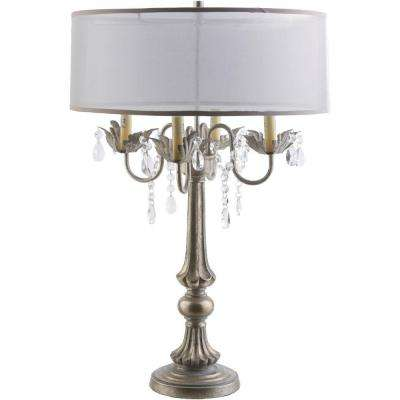 Walton 28 in. Ivory Indoor Table Lamp