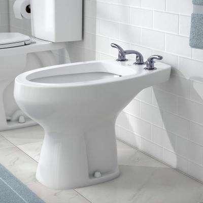 Builders 3-Handle Bidet Faucet in Chrome