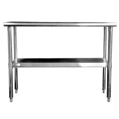 EcoStorage 48 in. NSF Stainless Steel Table