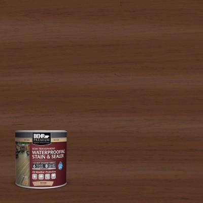 8 oz. #ST135 Sable Semi-Transparent Waterproofing Stain and Sealer Sample