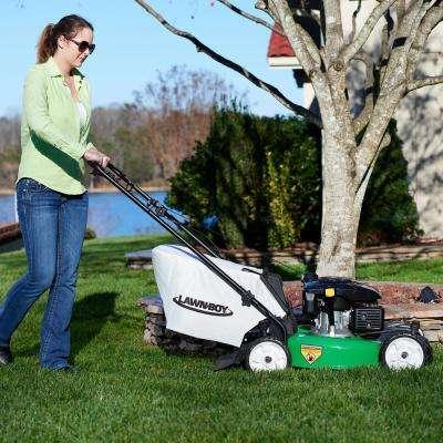 21 in. Variable Speed All-Wheel Drive Gas Walk Behind Self Propelled Lawn Mower