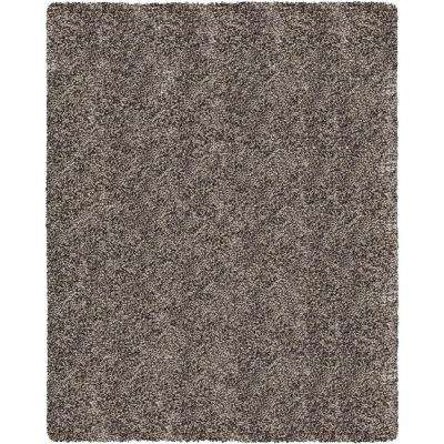 Hanford Shag Grey 7 ft. 10 in. x 10 ft. Area Rug
