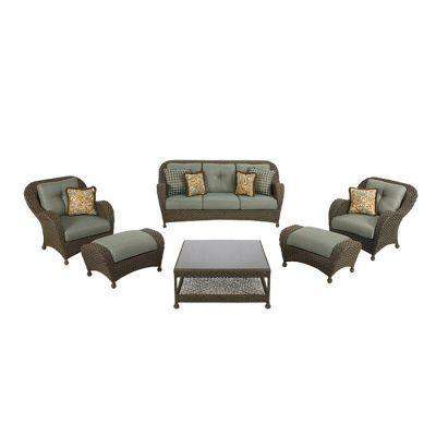 Palm Cove Collection 6-Piece Seating Set-DISCONTINUED