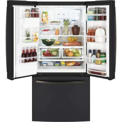 17.5 cu. ft. Counter-Depth French-Door Refrigerator in Black Slate, ENERGY STAR Fingerprint Resistant