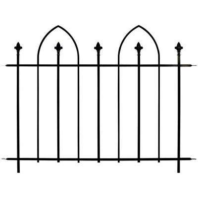 48 in. Wide Steel Bristol Fence Panel (8-Panels per Case/384 linear inches total)
