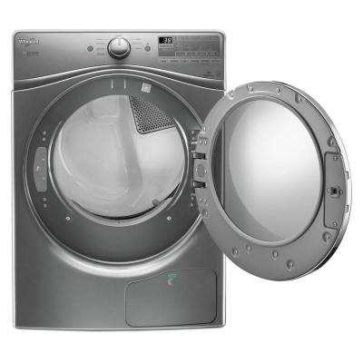 7.4 cu. ft. 240 -Volt Stackable Chrome Shadow Electric Heat Pump Ventless Dryer, ENERGY STAR