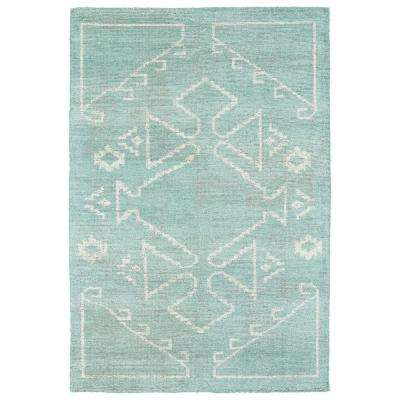 Solitaire Mint 4 ft. x 6 ft. Area Rug