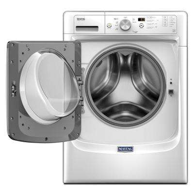 4.3 cu. ft. High-Efficiency Stackable White Front Load Washing Machine with Steam, ENERGY STAR