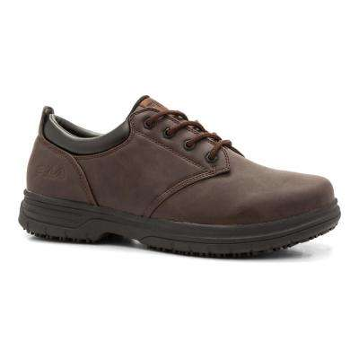 Memory Blake Men Pinecone Synthetic Soft Toe Work Shoe