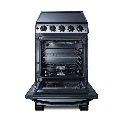 20 in. 2.3 cu. ft. Slide-In Electric Range in Stainless Steel