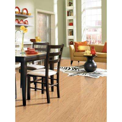 Scraped Oak Alabaster 3/8 in. Thick x 4-3/4 in. Wide x Random Length Engineered Click Hardwood Flooring (33 sq. ft/case)