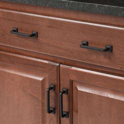 3-1/2 in. Center-to-Center Oil Rubbed Bronze Pull