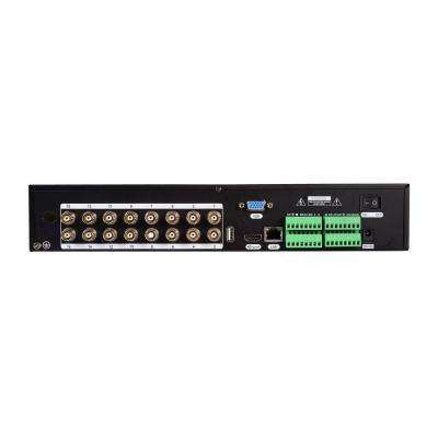 Aero 16-Channel HD 2TB Surveillance DVR with 8 Indoor/Outdoor Cameras