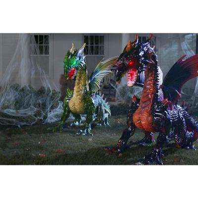 69 in. Animated Giant Earth Dragon without Fog Machine
