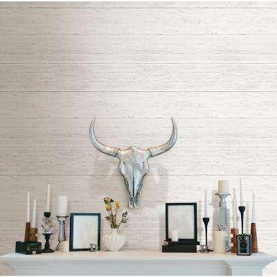 Shiplap Peel and Stick Wallpaper Sample