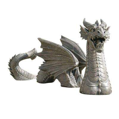 13.5 In. The Dragon of Falkenberg Castle Moat Lawn Statue-DISCONTINUED