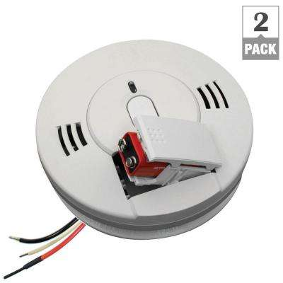 120-Volt Hardwired Photo-Electric Combination Smoke and CO Alarm (2-Pack per Case)