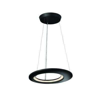 Ecliptic 12-Light Anthracite Hanging Pendant
