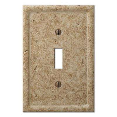 Texture Stone 1 Toggle Wall Plate - Noche