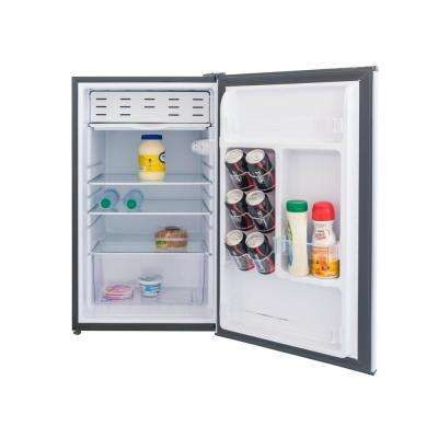 4.4 cu. ft. Mini Fridge in Stainless Look