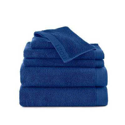 Classic Egyptian 6-Piece Towel Set in Morning Glory