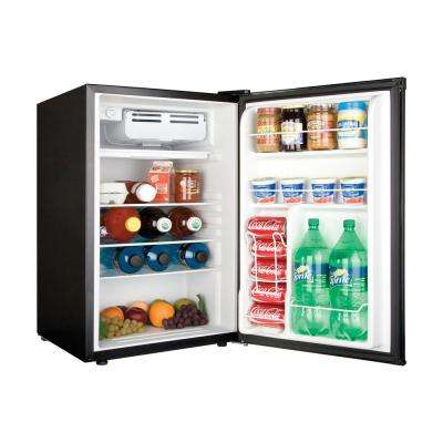 4.5 cu. ft. Mini Refrigerator in Virtual Steel