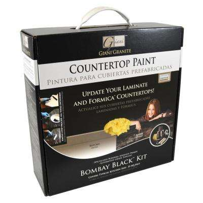 Giani Granite Bombay Black Countertop Paint Kit
