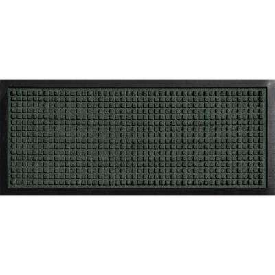 Aqua Shield Boot Tray Squares Evergreen 15 in. x 36 in. Pet Mat
