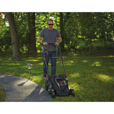 20 in. 40-Volt MAX Lithium-Ion Cordless Walk Behind Push Lawn Mower w/ (2) 2.0 Ah Batteries/Charger