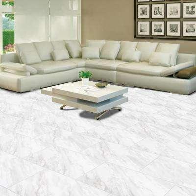 Kolasus White 12 in. x 24 in. Matte Porcelain Floor and Wall Tile (16 sq. ft. /case)