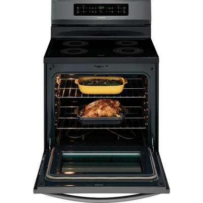 30 in. 5.4 cu. ft. Induction Range with Self-Cleaning Oven in Stainless Steel