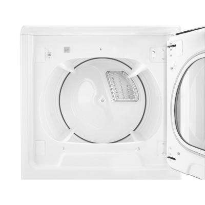 8.8 cu. ft. 120-Volt High-Efficiency White Gas Vented Dryer with Intuitive Touch Controls and Steam Refresh