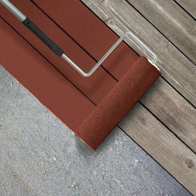 5 gal. #SC-330 Redwood Smooth Solid Color Exterior Wood and Concrete Coating