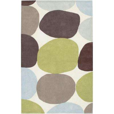 Meredith Ivory 3 ft. 6 in. x 5 ft. 6 in. Area Rug